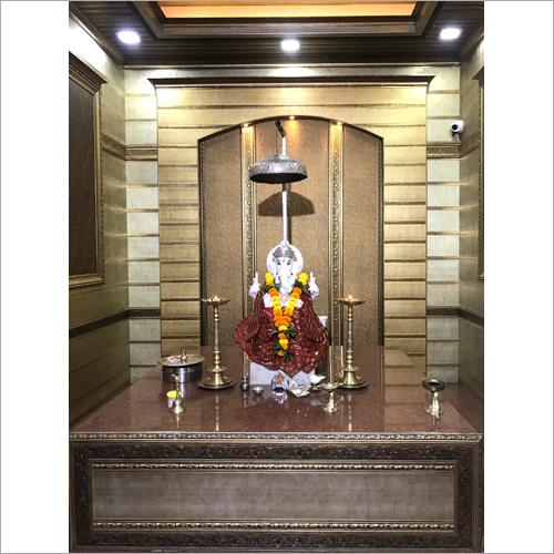 Modern Temple Interior Designing Services