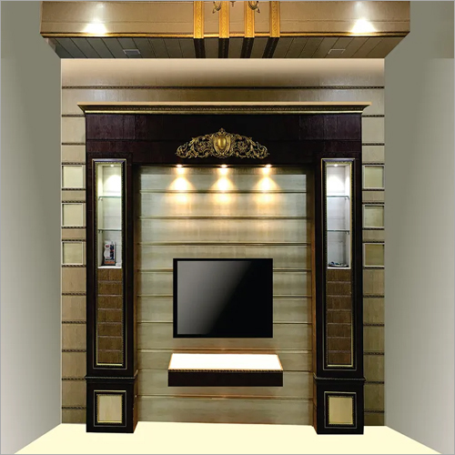 Living Room TV Wall Unit