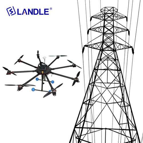 Hypld-8 Power Company Using Drones To String Power Lines