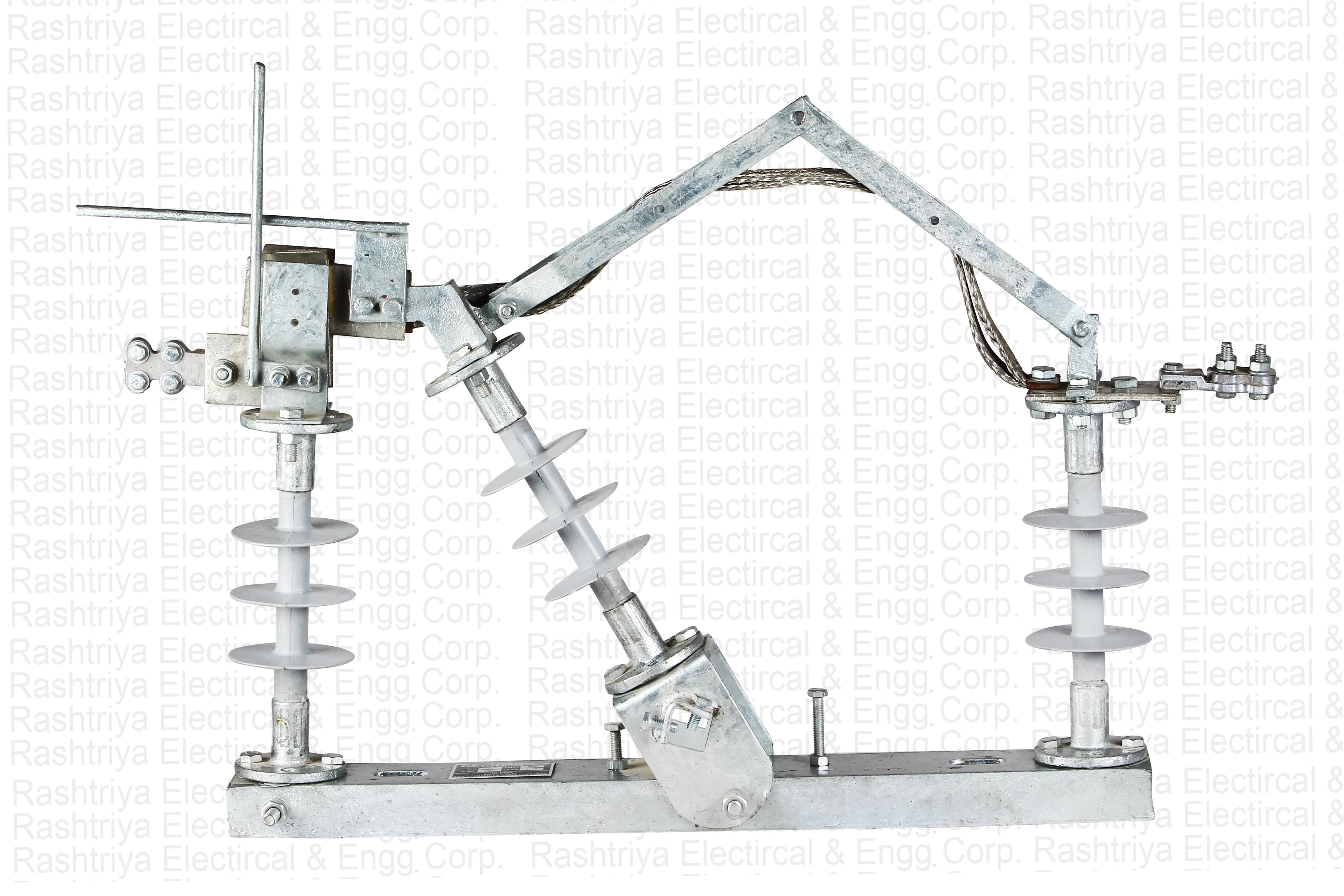 11kV Gang Operated/ Air Break Switch Nine Insulator Polymer