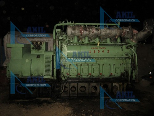 Sulzer 5ATL25H Complete Diesel Generator
