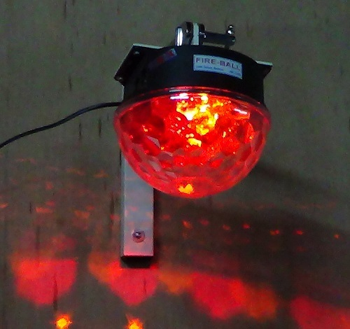 Fire-ball With Rotary Motion