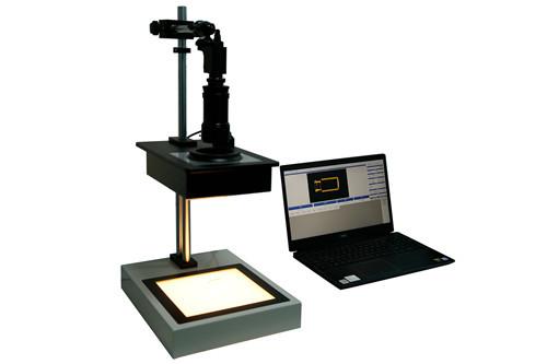 Computer Controlled Strain Magnifier Semi Automatic Quantitative Polariscope