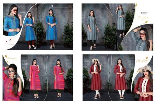 Kastoori Silk Kurti Catalogue Set