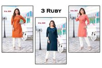 3 Ruby Catalogue Set