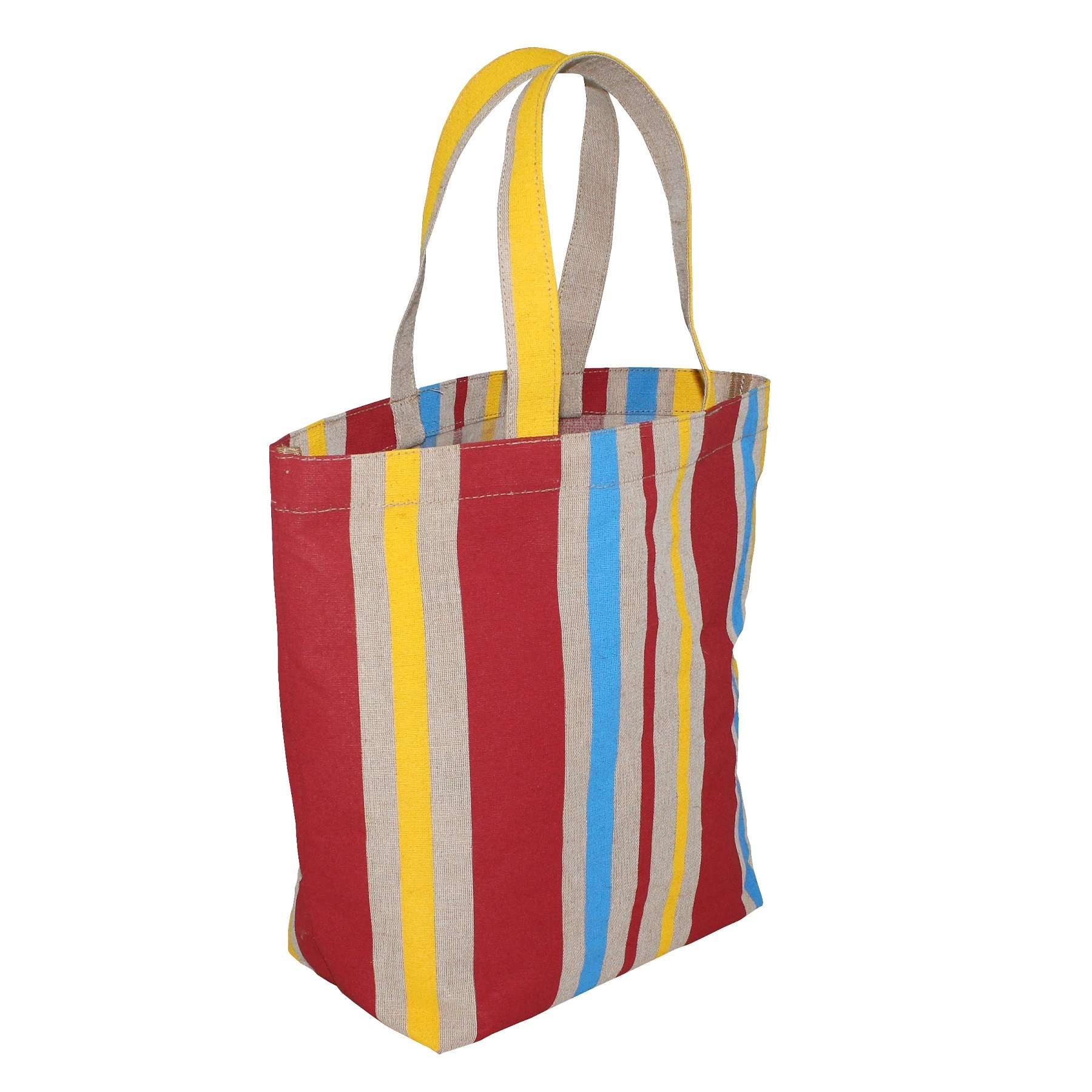 Pp Laminated Juco Fabric Tote Bag With Juco Handle