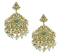 Kundan New Fancy Design Earring