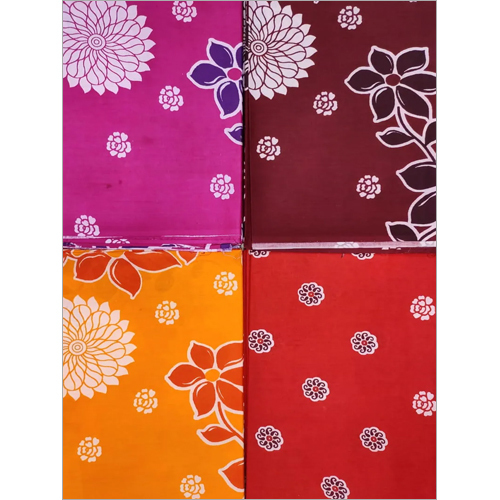 Nighty Floral Printed Fabric