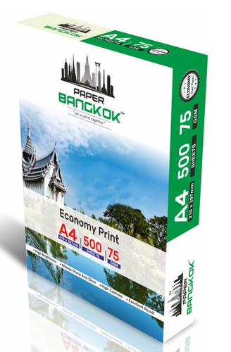 Paper Bangkok Economy Print Copier Paper 75gsm