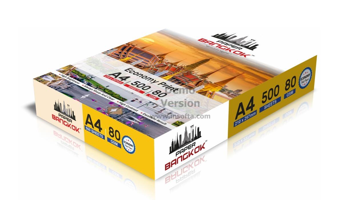 Paper Bangkok Economy Print Copier Paper 80gsm