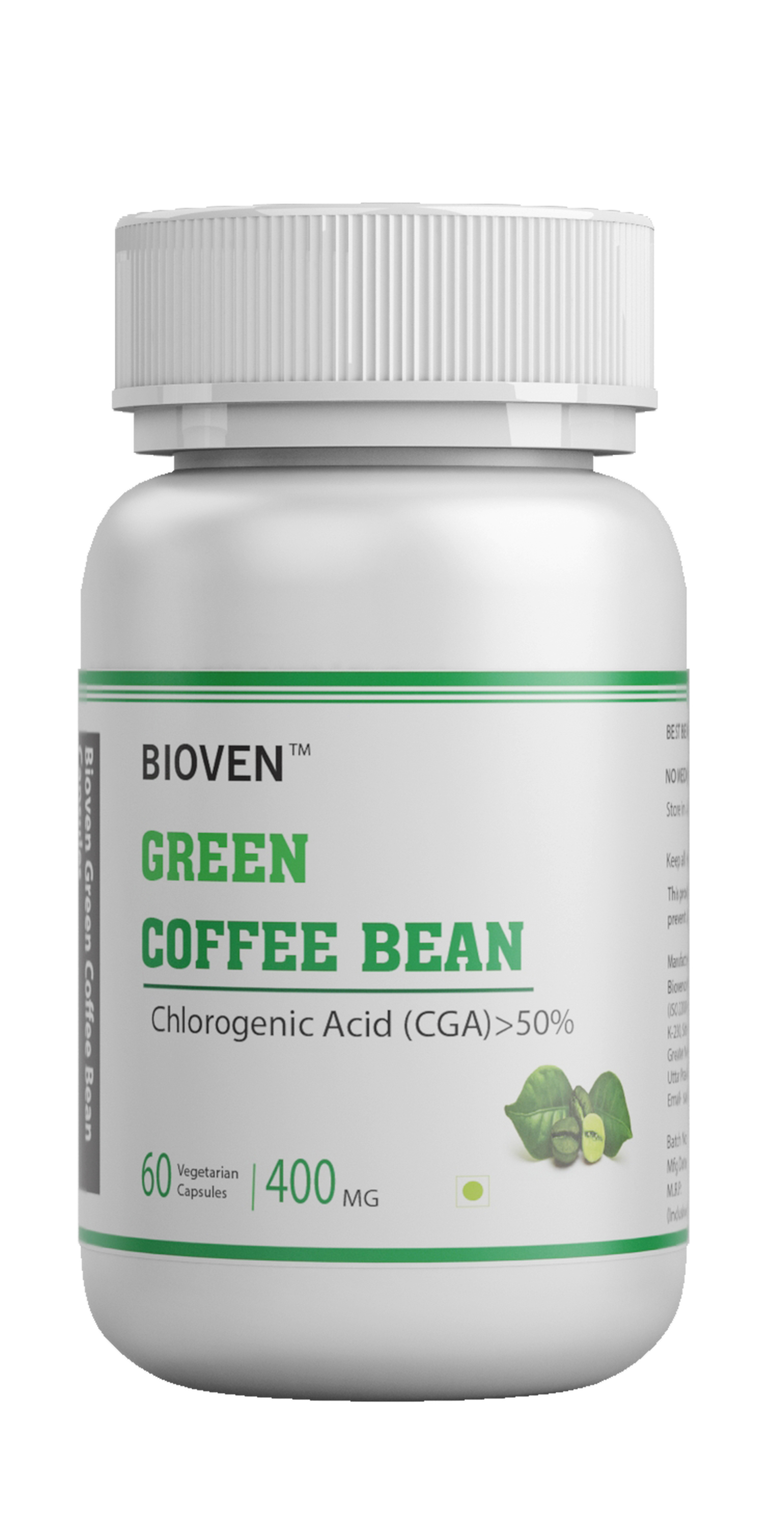 Green Coffee Bean Extract Veg Capsules
