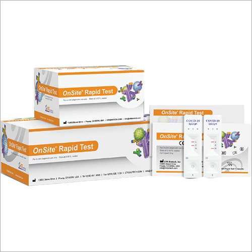 Covid-19 Igg-igm Rapid Test Kit