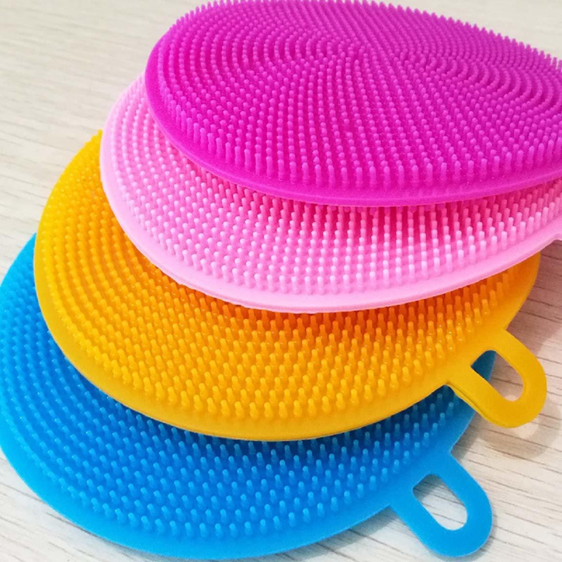 Silicone Washing Sponge Scrubber