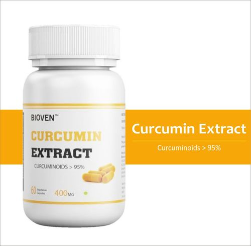 Curcumin Extract  Capsules With 95% Curcuminoids