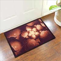 Floral 3d Printed Foot Mat