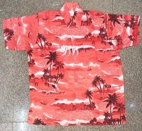 100% Polyester Beach Shirt