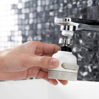 Rotating Faucet Shower Head