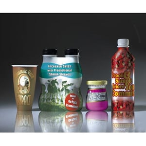 Shrink Labels For Cosmetics And Food Containers