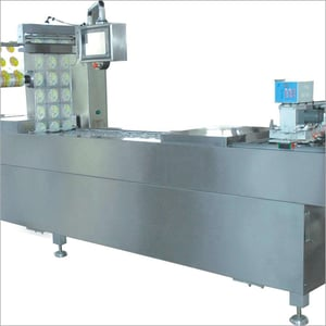 Automatic Stretch Film Thermoforming Meats Vacuum Packaging Machine
