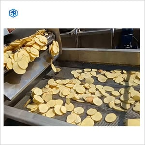 Automatic Chip Potato French Fries Production Line