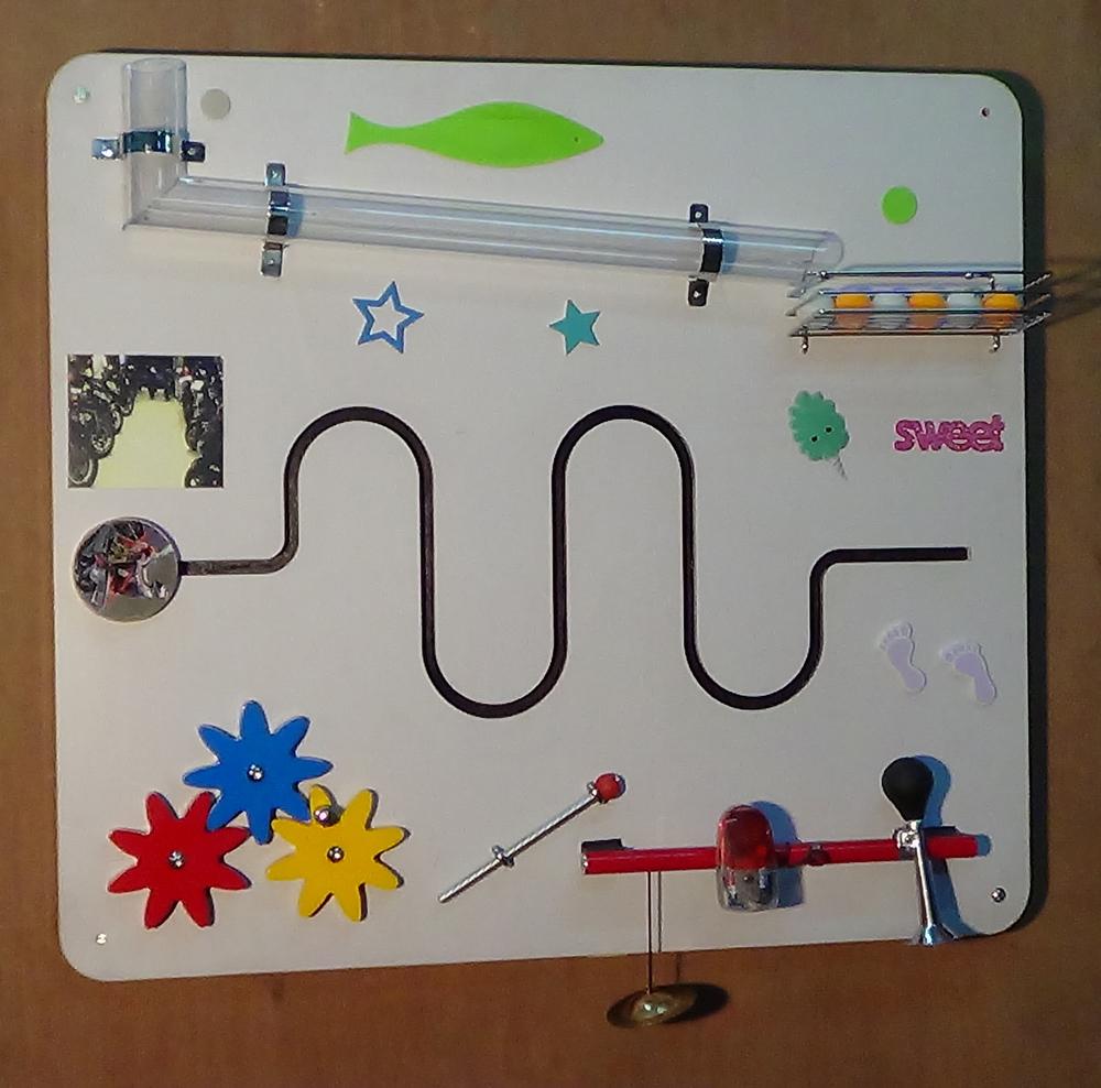 Imi-1343 Sensory Learning Wall, Single Panel