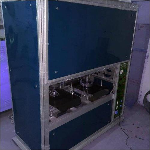 Double Die Thali Crank Machine