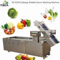 Automatic Fruit Vegetable Bubble Ozone Washing Machine