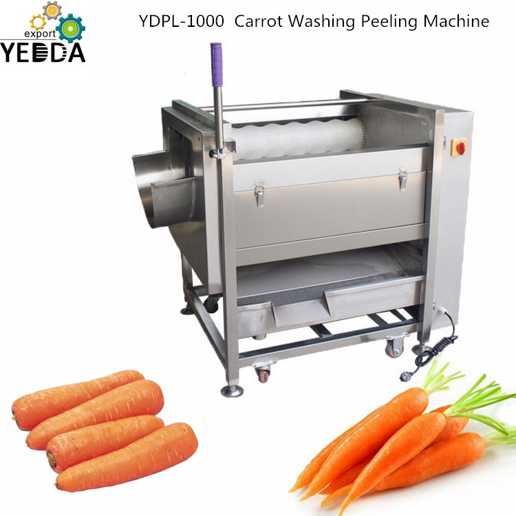 Vegetable Brush Washing Peeling Machine