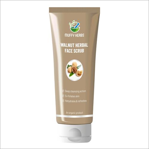 Walnut Herbal Face Scrub