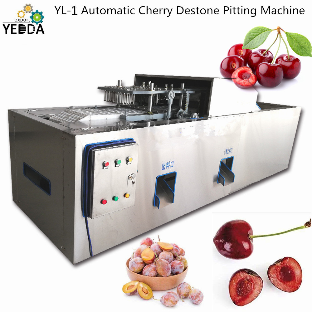 Automatic Fruit Destone Pitting Machine