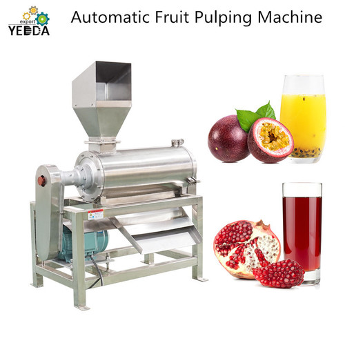 Automatic Fruit Pulping Machine