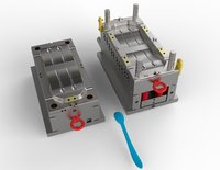 plastic injection spoon mould