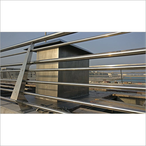 SS Hood Cover and Platform Railings Fabrication Services