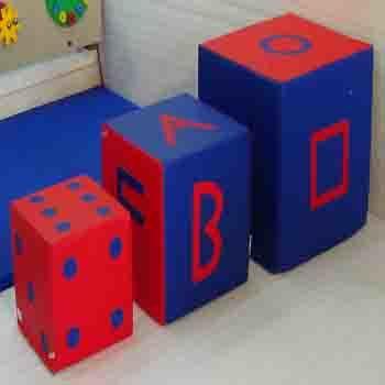 IMI-1376 Foam Blocks / Cubes Set.