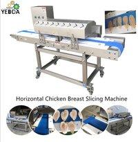 Horizontal Chicken Breast Slicing Machine