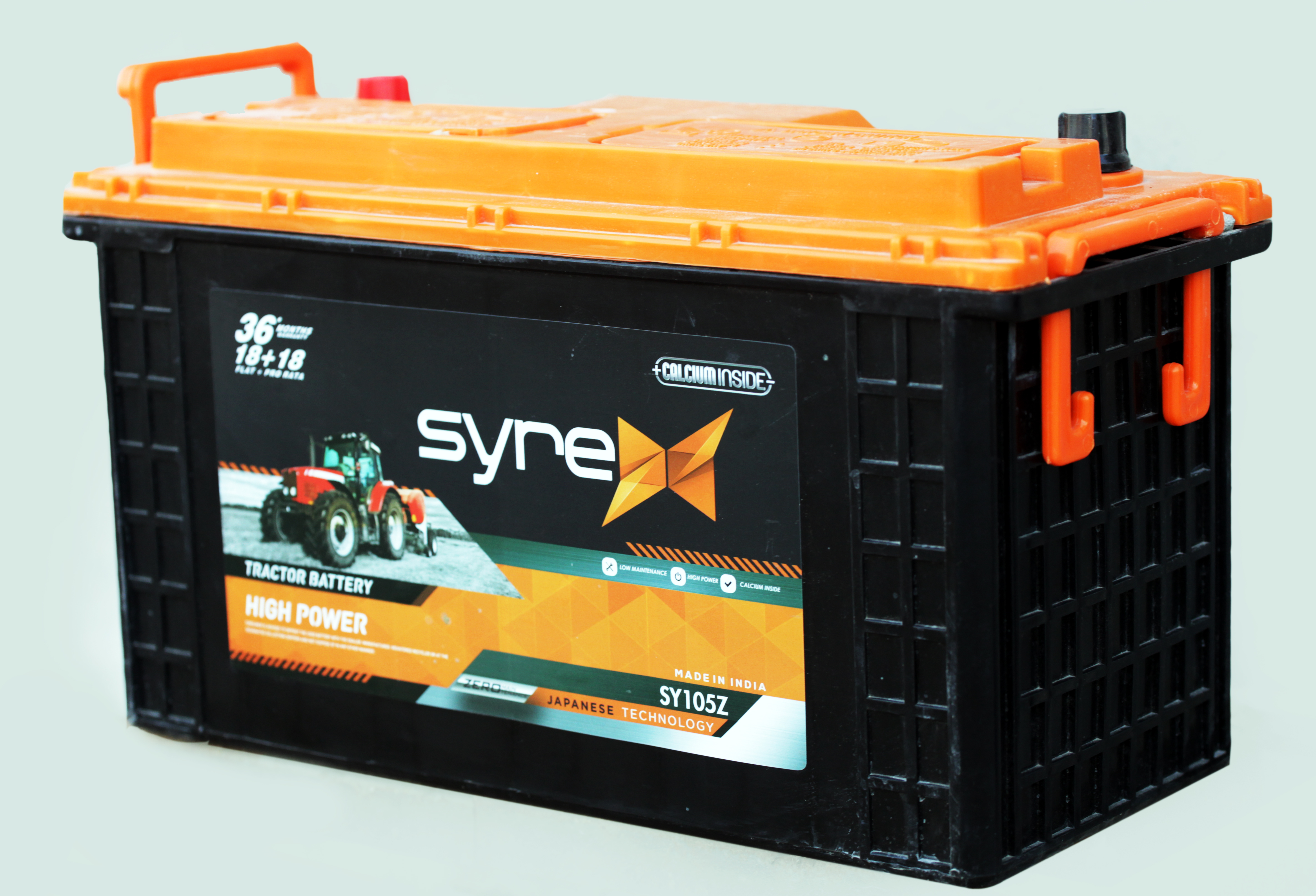 SY100z tractor  Battery