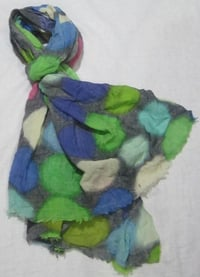 Digital Printed Wool Shawl