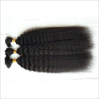 Kinky Straight Bulk Hair