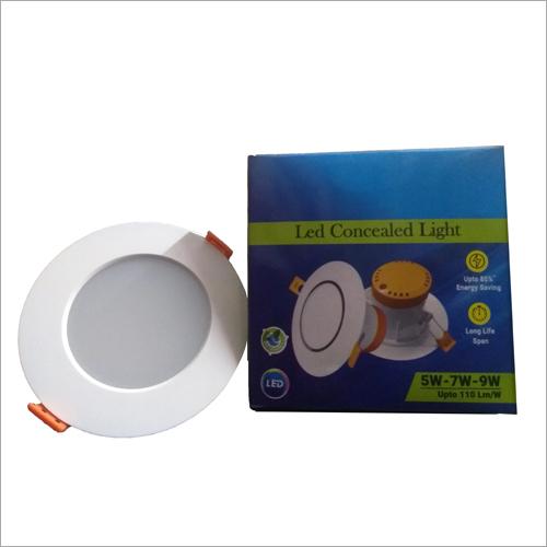 LED Round Concealed Light