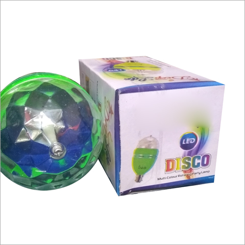 LED Multicolor Rotating Party Lamp