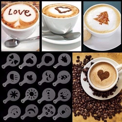 Coffee Stencil Set