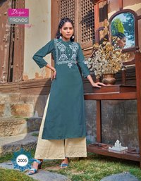 Florence Vol-2 Rayon Cotton Kurti Wholeseller