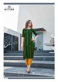Mohini NX Rayon Printed Kurti Catalog