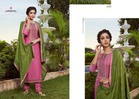 Rangoli Silk Kurti Catalogue Set