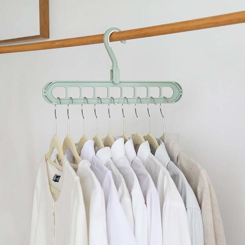 Rotatable Space Saver Hanger For Clothes