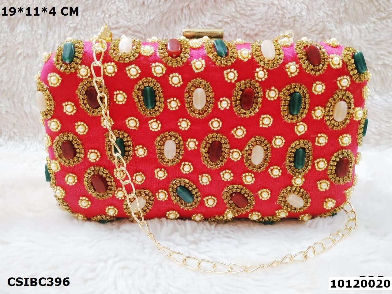 Designer Box Clutch