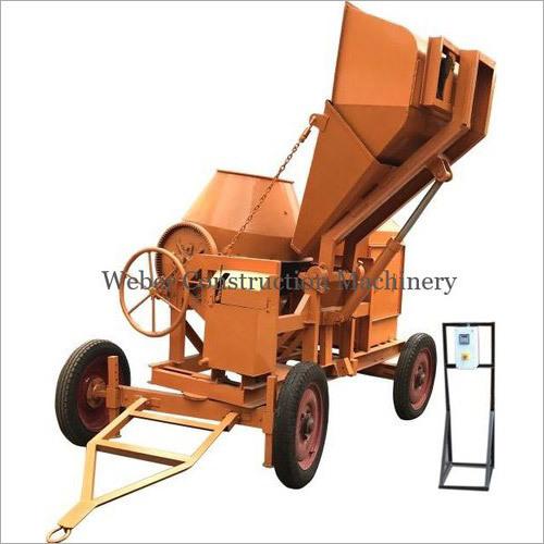 10-7 CFT Digital Hopper Concrete Mixer