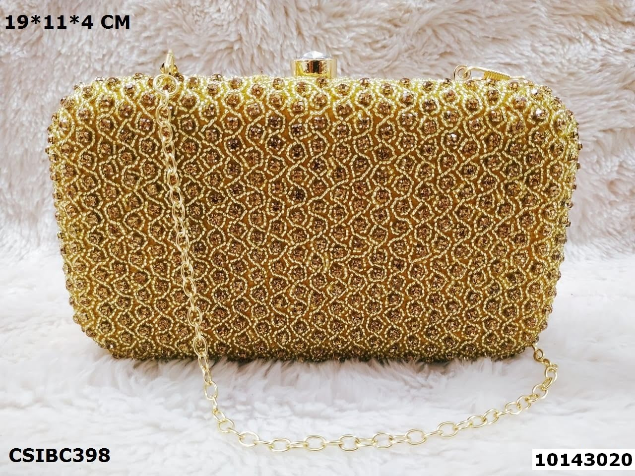 Stylish Bridal Box Clutch