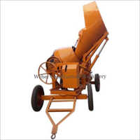 Mobile Concrete Mixer with Hy. Hopper