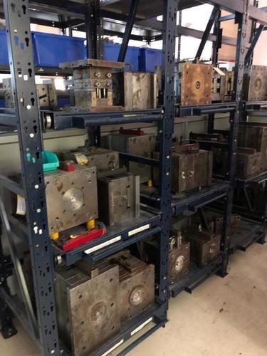 Mould storage racks